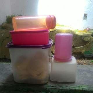Aneka Wadah Tupperware