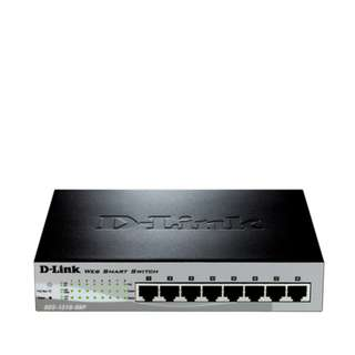 Dlink 8-Port Layer 2 Smart Managed Fast Ethernet Switch (DES-1210-08P/E)