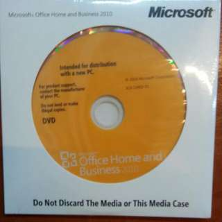 TOSHIBA Microsoft Office Home and Business ( 2010)