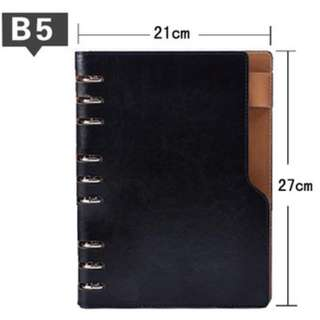 Big-L shape-B5 Refillable NoteBooks-S$22.80 🚗{Including a Free delivery}