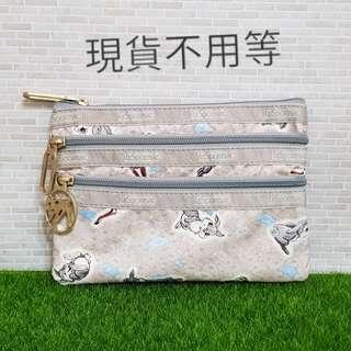 🚚 Lesportsac 小鹿斑比 三層化妝包(˙7158)