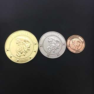 METAL Harry Potter Coins/Gringotts