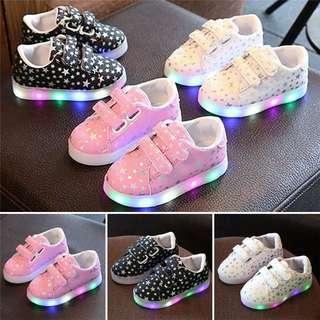 Kids Luminous Sneakers Light Up Led Shoes