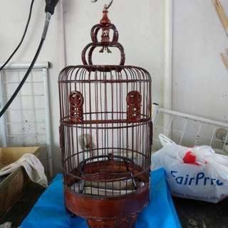 Old Puteh Cage 8 inch