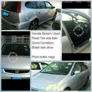 kereta Honda stream used.