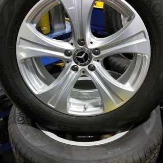 "Mercedes ""18 250 Wheels"