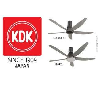 kdk ceiling fan dc motor 5 blade
