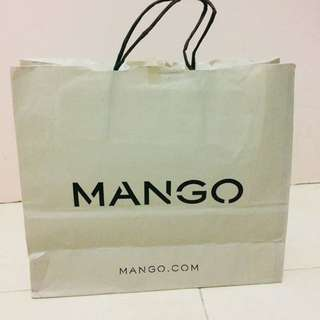 Paperbag Mango medium