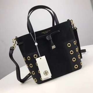 Tory Burch Block T Grommet Nano Bucket Bag