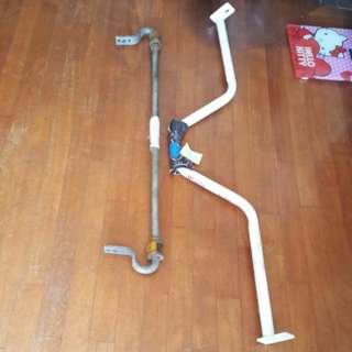 Subaru wrx anti roll bar & leg rm bar.