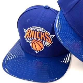 Authentic New Era 9Fifty Knicks Blue Shine Snapback