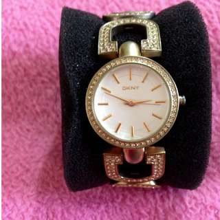 SALE! Repriced! DKNY Gold Watch