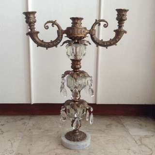 Antique Candelaria Candle Holder