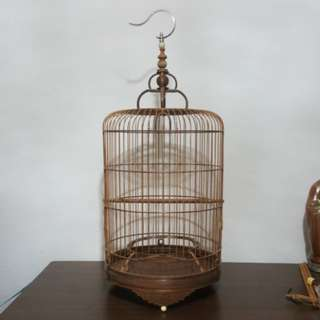 Rosewood Finch/Canary Cage