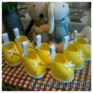 Gubahan hantaran. Gift idea for babyshower/cukur rambut. Baby shower door gift ( min 30pcs )