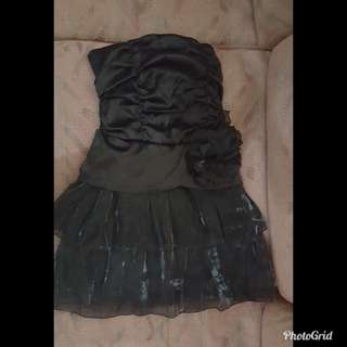 Dress kemben hitam