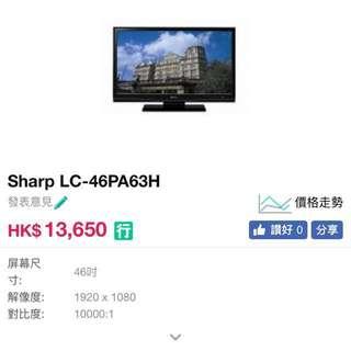 Sharp LC 46PA63H