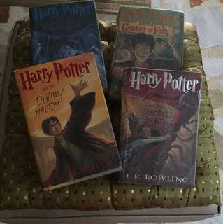 Harry Potter books SET 4pcs
