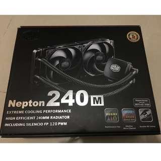 全新CPU 一體式水冷散熱器 Cooler Master Nepton 240M HKD700 高階水冷