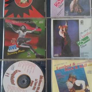 Latin dance music CDs
