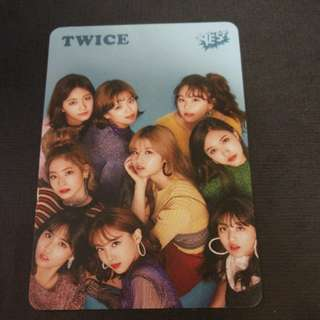 TWICE yes cards