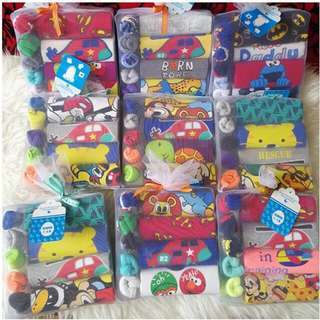 9 in 1 Boy/ Girl Baby Giftset Romper