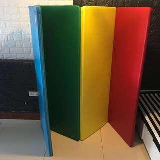 Colourful Rainbow Playmat $90