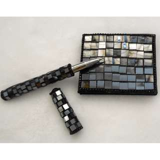 Mosaic Pen and Notepad Set
