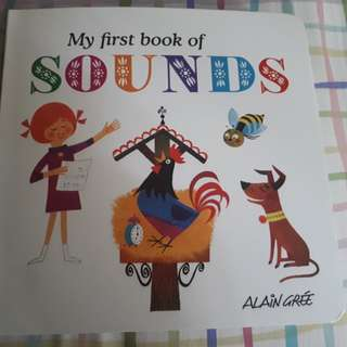 My first book of sound