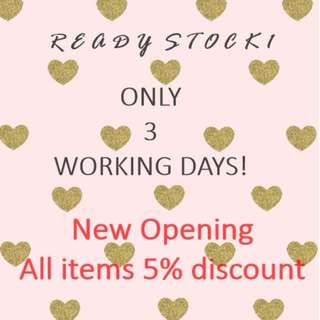 5% Discount For All Items - Delivery Within 3 Working Days