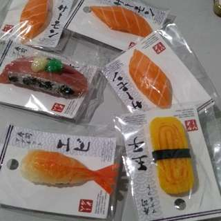 6pcs. Ref Magnet Sushi from Japan