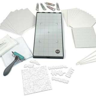 L Letterpress Ultimate Starter Kit (Like New)