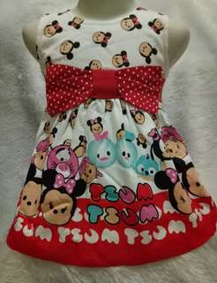 Dress bayi tsum tsum