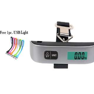Electronic Digital Travel Luggage Weighing Scale