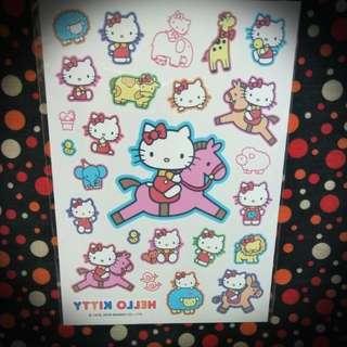 Authentic Sanrio Hello Kitty Tattoos