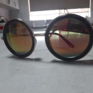 Yellow Festival Bubble Space Sunglasses