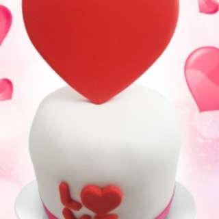 Round Love Cake (4 inches)