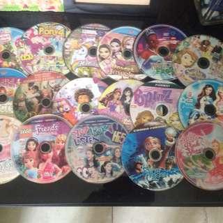 DVD anak & CD lagi anak