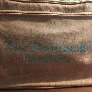 70年代香港半島酒店旅行袋有匙