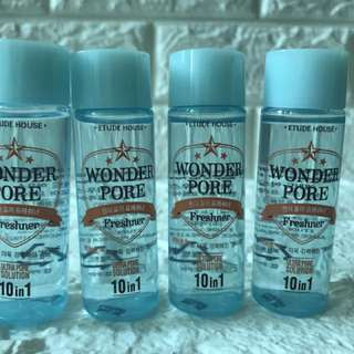 Wonder pore toner