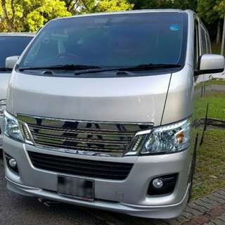 Nissan NV350 2.5M for Lease