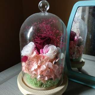 TE AMO preserved flowers