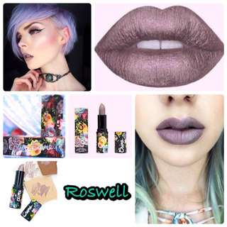 Lime Crime Perlees Metallic Glossy Lipstick (Roswell)