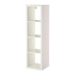 Kallax 層架組 白色 展示櫃