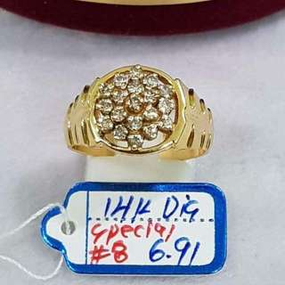 14k Diamond Japan ring. 💍✅Wise investment ever! 💎💍Pawnable 💳Lowest price per gram 👍Direct supplier 💯%Guaranteed authentic and brand-new 👍Pay today, ship today! Payment first policy! 🏭🚡We ship local and international.