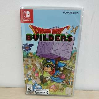 (Brand New) Nintendo Switch Dragon Quest Builders