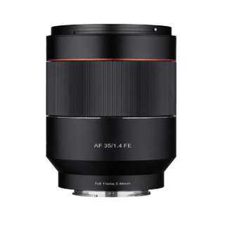 Samyang AF 35mm f1.4 FE Lens for Sony Full Frame E mount Camera *NEW*