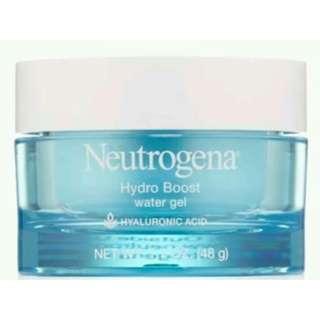 BNIB Neutrogena Hydro Boost Water Gel with HYALURONIC ACID 48g