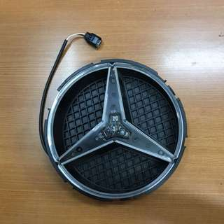 Front Mercedes Star Emblem light