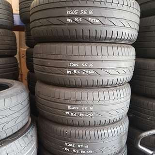 205/55r16 Used Tyres